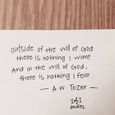 courage christian quotes a w tozer will of god no fear in love
