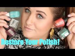 how to fix nail polish that has dried
