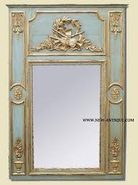 louis xvi antic trumeau mirror french