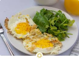 fried eggs over hard recipe