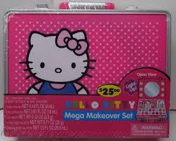 o kitty mega makeover set makeup