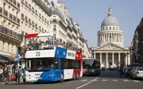 paris open tour hop on hop off ticket