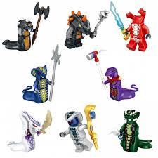 Ninjago Figures blocks Nya Jay Zane and Kai Cole Harumi Samurai x Ninja toys