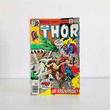 vintage thor comic book 1970s marvel