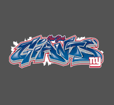 New York Giants Vinyl Decal For Laptop Windows Wall Car Boat
