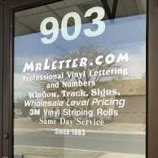 Vinyl Lettering Custom Vinyl Lettering