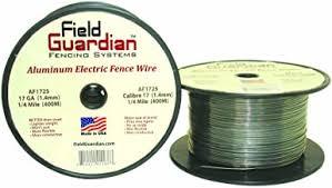 Amazon Com Aluminum Fence Wire