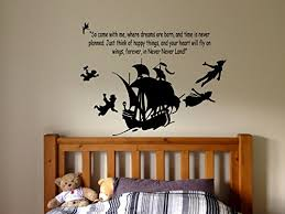Peter Pan Cartoon Never Grow Up Wall Dec Buy Online In China At Desertcart