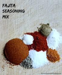 homemade fajita seasoning mix love to