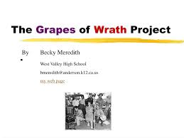 PPT - The Grapes of Wrath Project PowerPoint Presentation, free download -  ID:53232