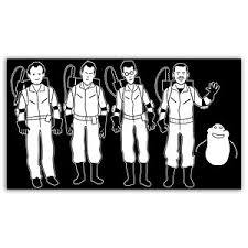 Ghostbusters Family Car Window Decal On Sale For 3 99 Pic Global Geek News