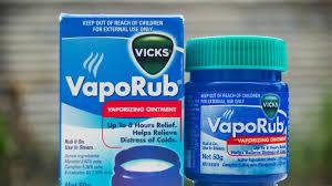using vicks vaporub to treat cough and