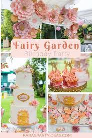 fairy garden birthday party fairy