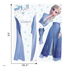 Frozen 2 Elsa Wall Decal Wall Palz