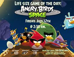 Life Size Game of the Day: Angry Birds in Space - Bristol Public ...