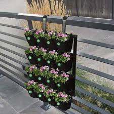 Black Plastic Vertical Garden Panel With Pot Rs 3500 Pair Eminent Solution Id 20863301862