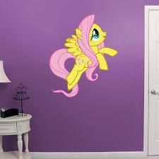 Fluttershy My Little Pony Kids Custom Wall Decals Pony Wall My Little Pony
