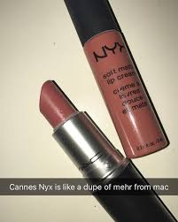 dupe nyx cannes mac mehr