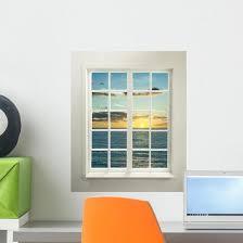 Modern Residential Window Wall Decal Wallmonkeys Com