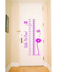 Design With Vinyl Growth Chart Measurement Ruler Wall Decal Wayfair
