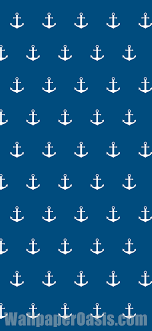 blue and white anchor iphone wallpaper