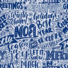 merry christmas background hand drawn quotes vector new