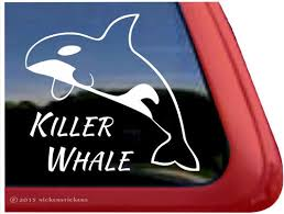 Orca Whale Decals Orca Whale Stickers A Nickerstickers