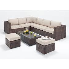 brown wooden corner sofa set rs 3000