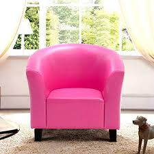 Amazon Com Kanizz Deluxe Living Room Kids Room Reading Kindergarten Sofa Sturdy Pu Leather Armrest Sofa Luxury Cozy Pink Sofa Armrest Couch Home Theater Tv Movies Seat Gaming Lounge Chair Kitchen Dining