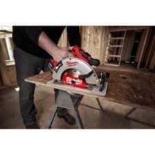 Milwaukee M18 18 Volt Lithium Ion Brushless Cordless Hammer Drill And Circular Saw Combo Kit 2 Tool With Two 4 0 Ah Batteries 2992 22 The Home Depot