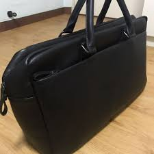 zara leather duffel bag men s fashion