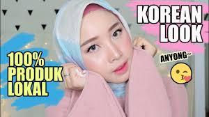make up korea pakai 100 produk lokal