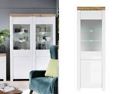 tall glass storage cupboard display