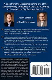 Think Outside the Inbox: The B2B Marketing Automation Guide: David  Cummings, Adam Blitzer: 9780615361819: Amazon.com: Books