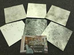 antique mirror glass sample pack 6