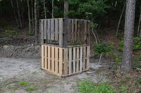 diy deer project wood pallet ground
