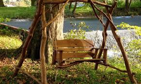 garden swings the enchanting element