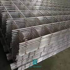 Double Welded Wire Mesh Fence Panels Height 1630mm 2500mm Width