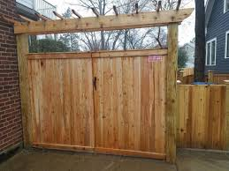 Residential Fencing Privacy Wood Fence Selections In Leesburg Cedar Fence Gate With Arbor In Arlington Va