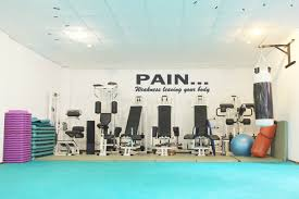 Pain Weakness Leaving Your Body Motivational Wall Decal Fitness Decal Gym Decal