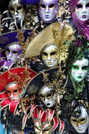 mystery decoration carnival italy