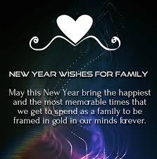 heartly new year wishes greetings for family and relatives