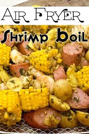 Air Fryer Shrimp Boil | Recipe