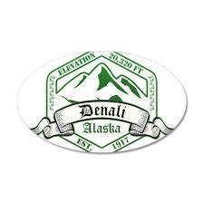 Denali National Park Alaska Wall Decal By Kyandii Cafepress