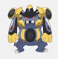 Megaevolution Pokémon universe Exploud Art, fake palm, fictional ...