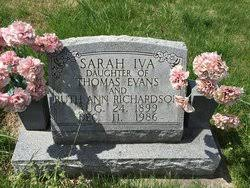 Sarah Iva Richardson Taul (1899-1986) - Find A Grave Memorial