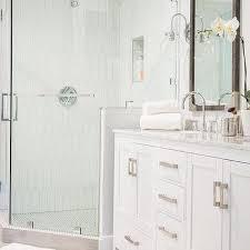 White Picket Tiles Design Ideas