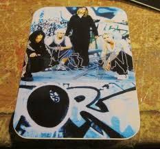 Korn Sticker Collectible Rare Vintage 2000 Metal Live Window Decal