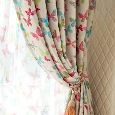 2016 New Blackout Butterfly Curtains For Living Room Double Sided Printing Short Kids Curtains Girl Pink Curtains For Bedroom 08 Curtains For Butterfly Curtainscurtains For Living Room Aliexpress