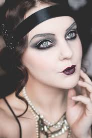 how to do 1920s flapper makeup